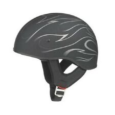 GMAX GM55S 1/2 HELMET BLACK DERK 2 W/ INNER SUN LENS & LEATHER HEADQUARTER  XS