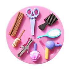 Silicone Makeup Tools Design Fondant Cake Molds Chocolate Mould Decoration BE