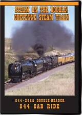 Steam on the Double! Cheyenne Steam Train DVD NEW Valhalla Video 844 3985 DDA40X