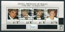 TONGA 2012 Lady Diana 15. Todestag Prinz William + Kate ** MNH