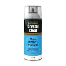 x8 Rust-Oleum Crystal Clear Multi-Purpose Spray Paint Lacquer Top Coat Gloss