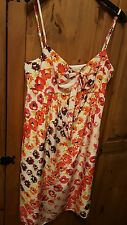 Coast  Begonia silk slip dress~Multi-colour flower print~New with tags~14~rrp£85