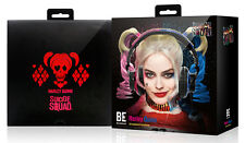 Suicide Squad Real Harley Quinn Over-the-Ear Circumaural Bass Enhanced Headphone