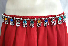 Afghan Kuchi Tribal Belt Belly Dance hip Scarf Costume Jewelry India Ethnic Boho