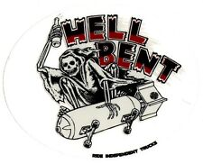 Independent Trucks - Hell Bent Skateboard Sticker - skate surf snow bmx guitar