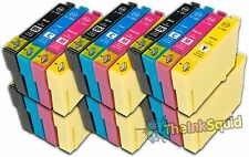 24 Ink Cartridges for Epson Stylus non-oem Replaces Epson T1291-4 (T1295) Apple