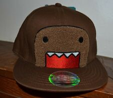 Fuzzy Domo Authentic Adjustable Flat Bill Hat By Concept One Accessories OSFM