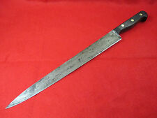 Sword & Shield Carbon Steel 12 inch Slicing/Carving Knife