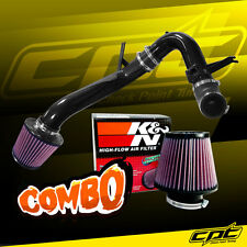 09-14 Acura TSX 2.4L 4cyl Black Cold Air Intake + K&N Air Filter