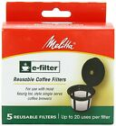 Melitta E-Filter, Reusable K-Cups for Keurig K-Cup Brewers, 5 Count