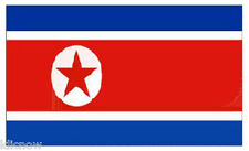 NORTH KOREA FLAG 5FT X 3FT (Another Quality product from Klicnow)