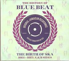 THE HISTORY OF BLUE BEAT THE BIRTH OF SKA BB51-BB75 A & B SIDES - 3 CD BOX SET