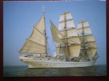 POSTCARD SAILING VESSELS GORCH FOCK IN THE CHANNELL