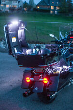 Motorcycle Trunk and Saddle Bag Lighting Kit, Auto On/Off, Easy Install
