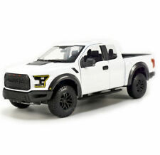 Maisto 1/24 Scale 2017 Ford Raptor Truck White Diecast Car Model 31266