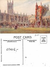 Great Britain - Oxford, Magdalen Collage Quadrangle LITHO (I-L 090)