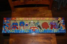 Superman Supergirl Metallo Bizarro-Superman Animated-MIB-4 Pack
