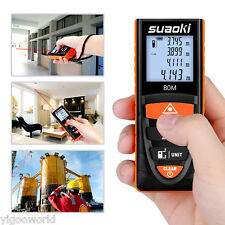 80M/262ft Smart Digital Laser Distance Meter Measure Diastimeter Range Finder