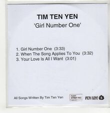 (GO756) Tim Ten Yen, Girl Number One - DJ CD