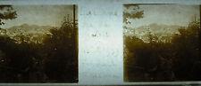 Stéréoscopique photographie Lucerne Suisse vue de Gutsil Aout 1939 Luzerne
