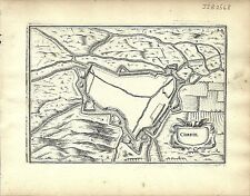 Antique map, Corbie