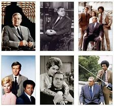 Ironside Raymond Burr 6 Card POSTCARD Set