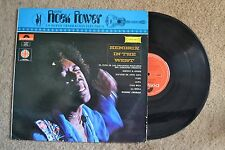 Rock Power Mexico Rock Hendrix In The West none on discos Record lp VG+