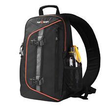 K&F Concept Camera Sling Backpack Bag fr Canon Nikon Sony DSLR SLR Weather Cover