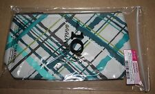 Thirty-one 31 Medium Thermal Zipper Pouch Retired Sea Plaid New/Unused