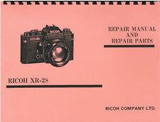 Ricoh XR-2S & KR-10 Service and Repair Manual
