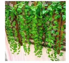 7.6ft Artificial Ivy Leaf Garland Plants Vine Fake Foliage Flowers Home Garden F