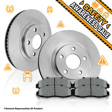 Front Rotors & Metallic Pads 2006 2007 2008 2009 2010 2011 HONDA CIVIC EX LX DX