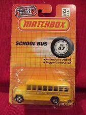 "Matchbox PROMO. 47 SCHOOL BUS, ""St. Paul Public Schools"", NIBP, 1990"