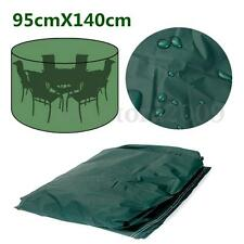 140cm Waterproof Outdoor Garden Patio Furniture Round Table Chair Cover Shelter