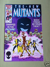 THE NEW MUTANTS- MARVEL COMIC - VOL 1  #49 - MAR 1987