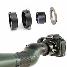 Canon EOS camera adapter for Swarovski Spotting Scope ATS STS 80 25-50x eyepiece