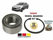 FOR KIA OPTIMA SALOON 1.7 CRDi 2012--ON NEW FRONT WHEEL BEARING KIT