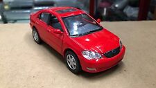 Toyota Corolla red car TOY model diecast 1/36 scale Car present gift open doors