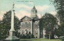 c1907 Printed Postcard; Court House, Cresco IA Howard County, Posted