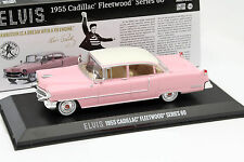 Cadillac Fleetwood Series 60 Elvis Presley Baujahr 1955 pink 1:43 Greenlight