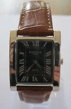 Kienzle 1822 * Rechteckig * Damen Quarz Uhr * Lederband Braun