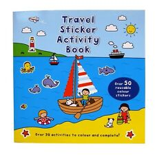 Travel Sticker & Activity Book - 32 Pages - by Alligator Books - 210mm x 210mm
