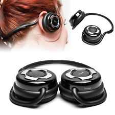 Noise Cancelling Stereo Bluetooth Headphones w/Mic for Laptop/Tablets/Cellphones