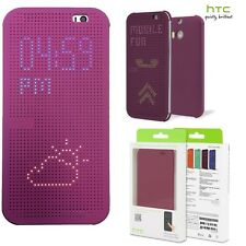 Genuine HTC ONE M8 S Dot View FLIP CASE mobile original smart cell phone cover