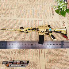 """1/6 Scale Metal M4A1 weapon 1 For 12"""" LOL Action Figure Overwatch Cross Fire"""