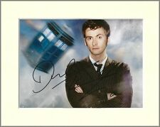 DAVID TENNANT NO.2 DOCTOR WHO PP MOUNTED 8X10 SIGNED AUTOGRAPH PHOTO