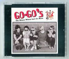 The Go Go's - The Whole Word Lost It's Head - Scarce Mint 1994 Cd Single