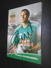 33549 Zhomas Schrammel Rapid Wien original signierte Autogrammkarte