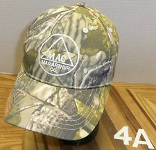 MACARTHUR COMPANY ROOFING MATERIALS MONTANA CERTAINTEED CAMO HAT ADJUSTABLE VGC