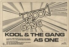 9/10/82Pgn36 Advert: Kool & The Gang New Album as One 7x11